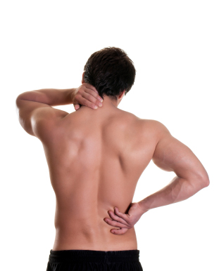 massage heals back pain