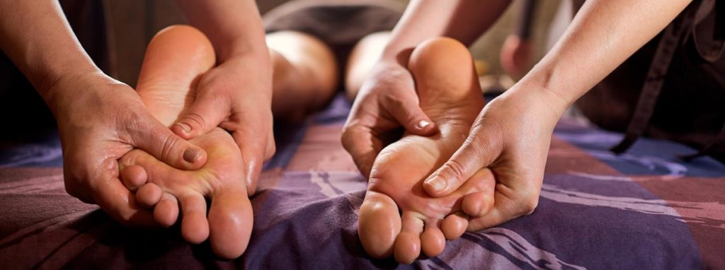 Four hand massage at West Garden Spa
